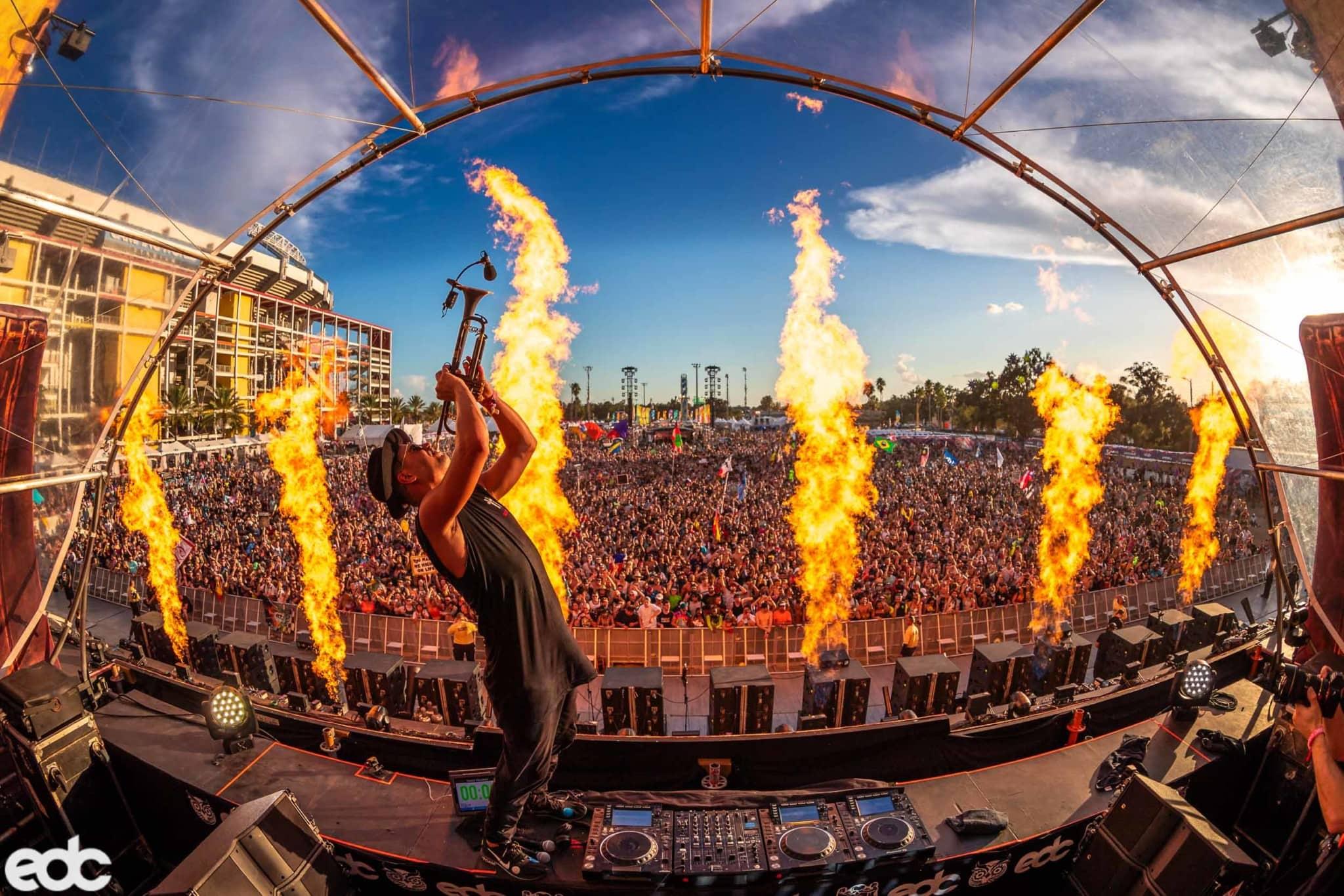 EDC Orlando · Alive Coverage